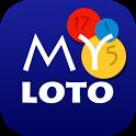 myLoto תוצאות לוטו צ'אנס ופיס icon