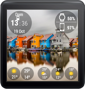Mural Watchface Screenshot 11