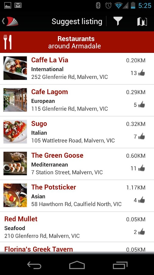 Australian Good Food Guide - screenshot