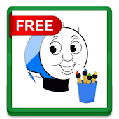 Train Coloring Games Kids
