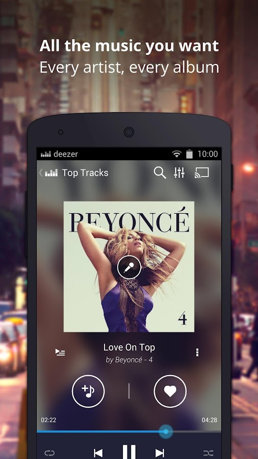 Deezer Music - screenshot