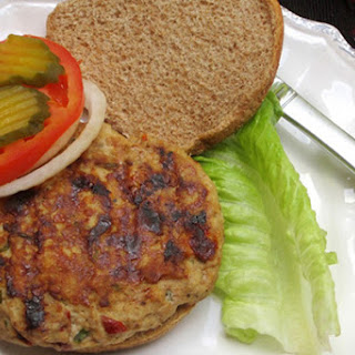 Turkey Burger with Sun-Dried Tomatoes and Feta
