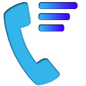 Rating of calls icon