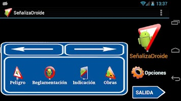 Screenshot of SeñalizaDroide