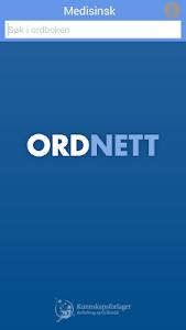 Ordnett - Medisinsk ordbok v1.0.10
