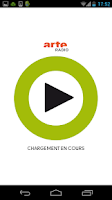 Screenshot of ARTE Radio