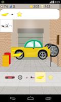 Screenshot of car building games