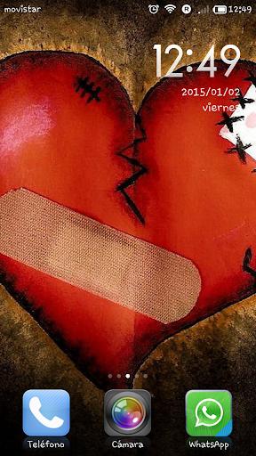 Wallpaper hearts heartbreak