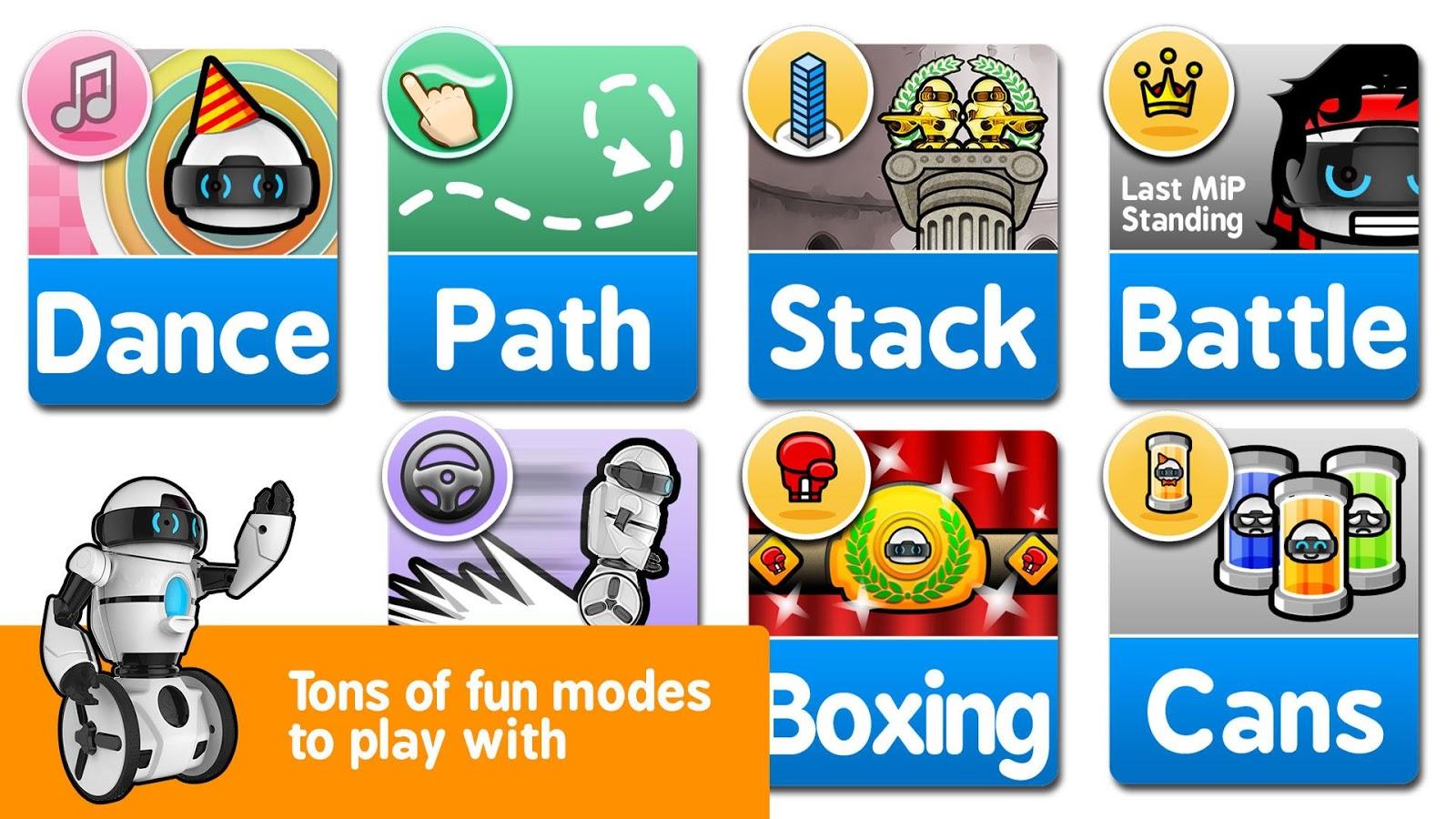 MiP App- screenshot