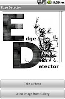 Screenshot of Edge Detector