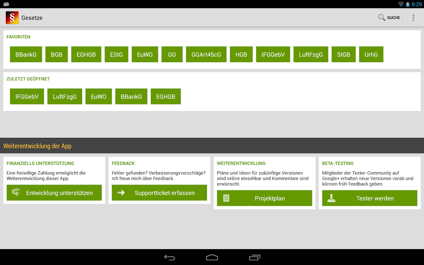 Gesetze - Android Apps on Google Play