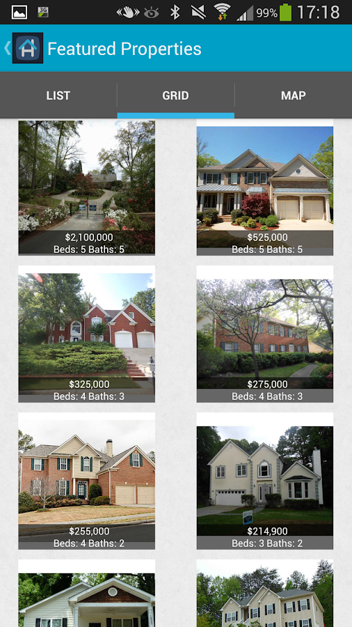 Local homes real estate search android apps on google play for Local home builders