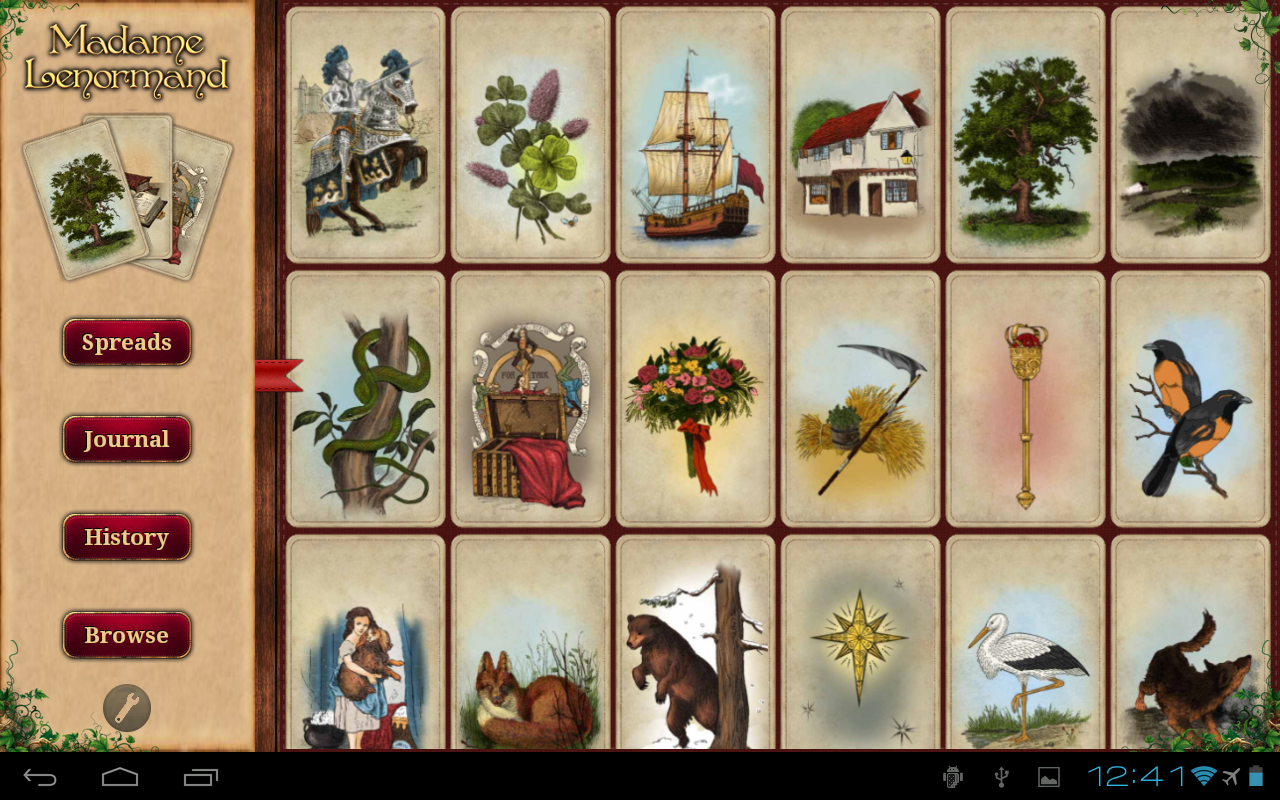 Tarot Madame Lenormand HD - screenshot