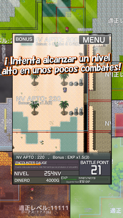 Inflation RPG: captura de pantalla