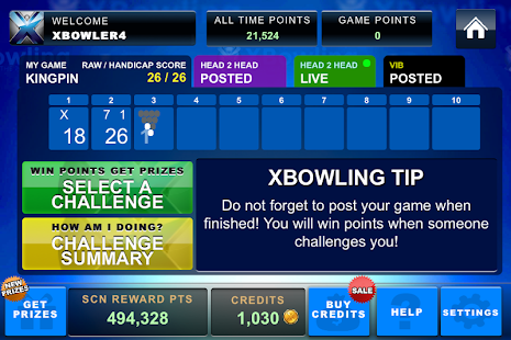 XBowling - screenshot thumbnail