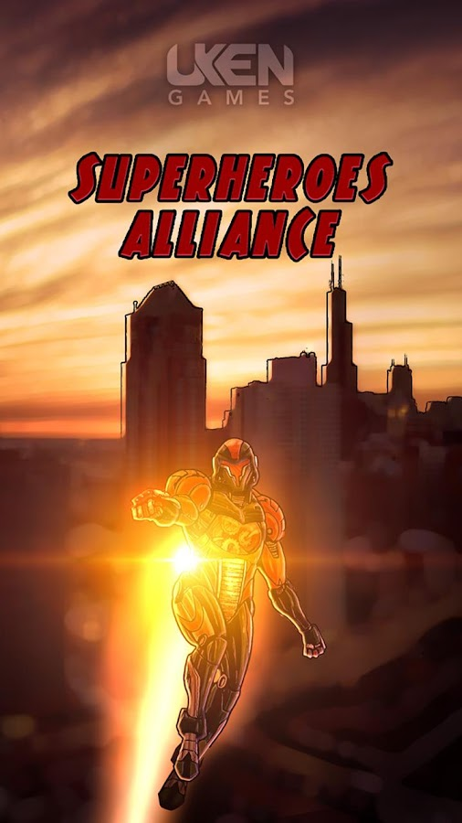 Superheroes Alliance - screenshot