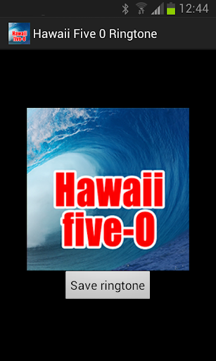 Hawaii 5 0 Ringtone
