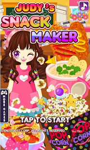 Judy's Snack Maker - COOKING