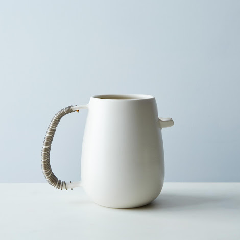 Woven Handle Pitcher