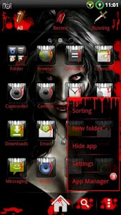 Vampire GO Launcher EX Theme- screenshot thumbnail