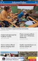 Screenshot of Arkansas Online