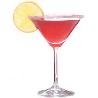 Favorite Things (Pomegranate) Martini.