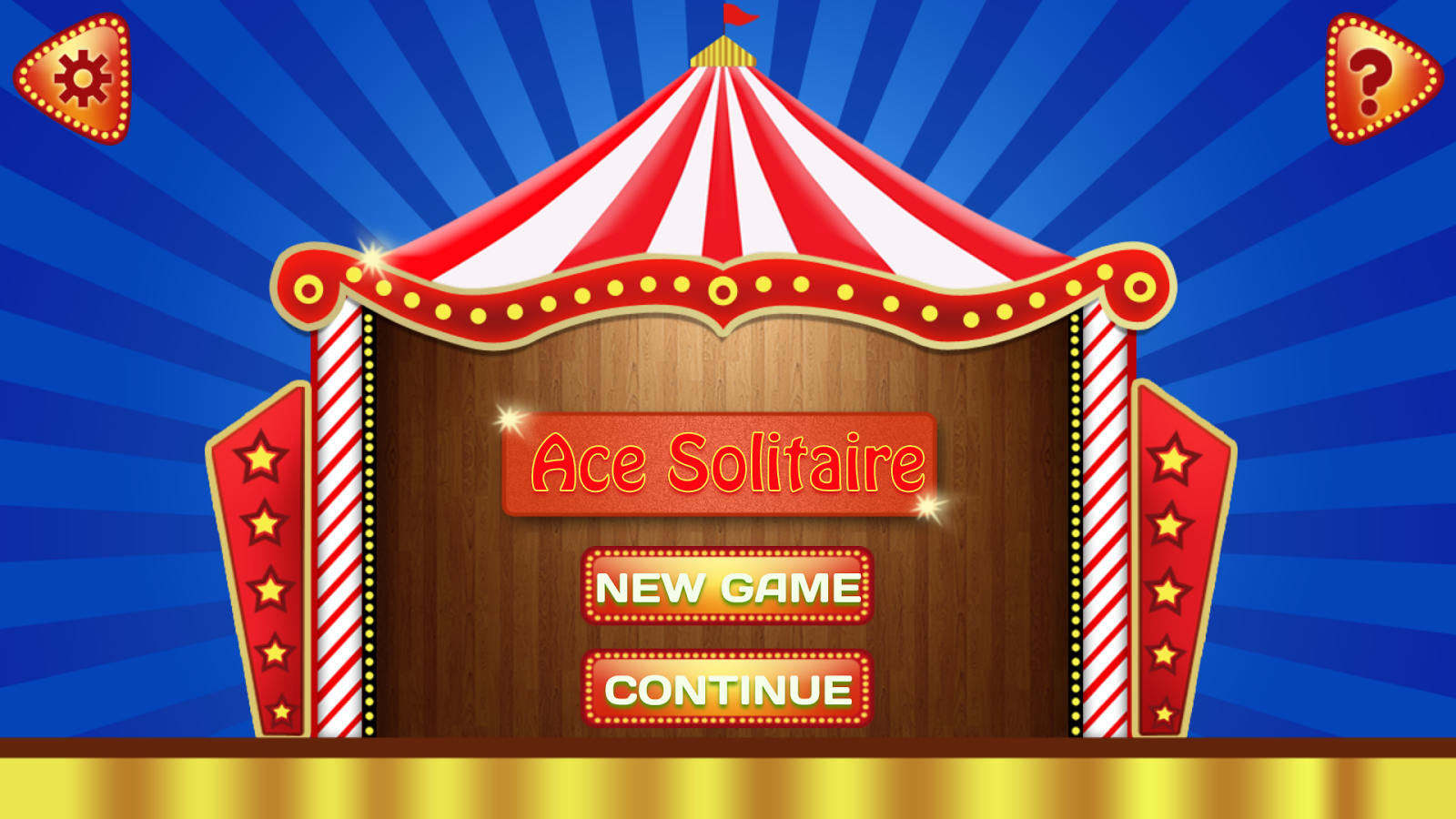 Ace Solitaire Circus- screenshot