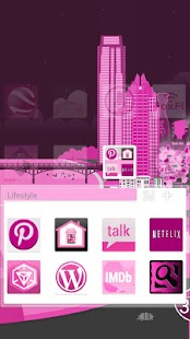 玩個人化App|Pink Now GO Launcher EX Theme免費|APP試玩