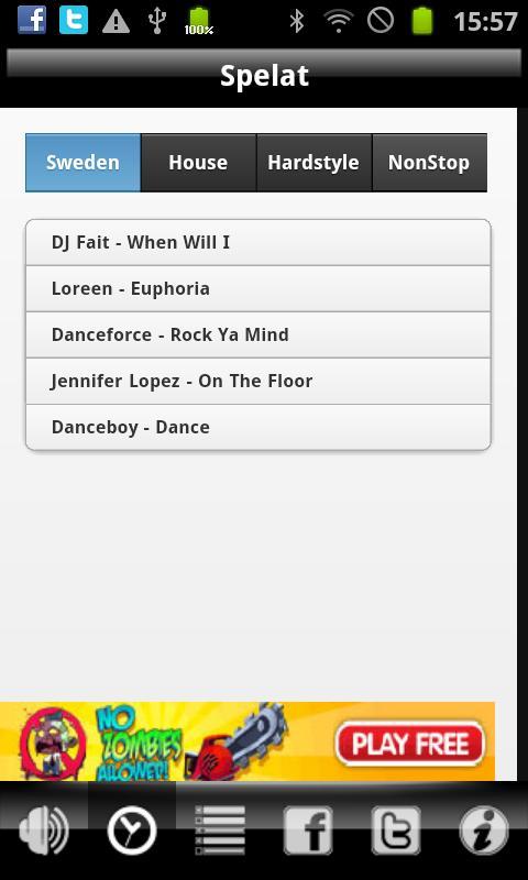 NERadio- screenshot
