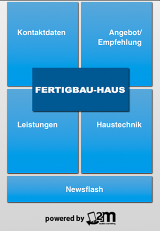Fertigbau-Haus