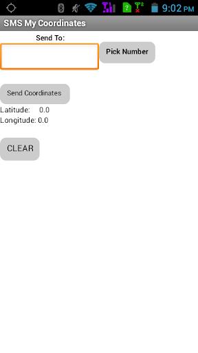 SMS My Coordinates