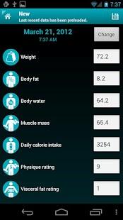 Weight Logger - screenshot thumbnail