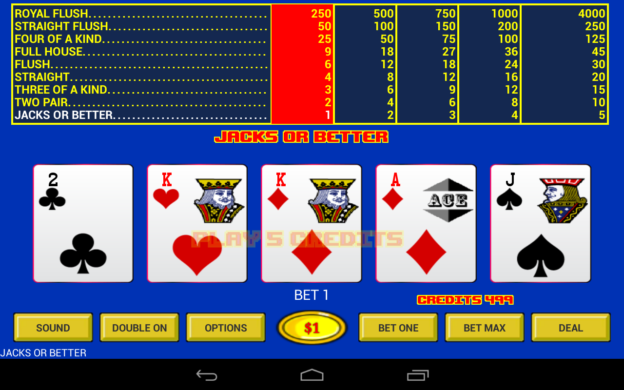 best video poker app