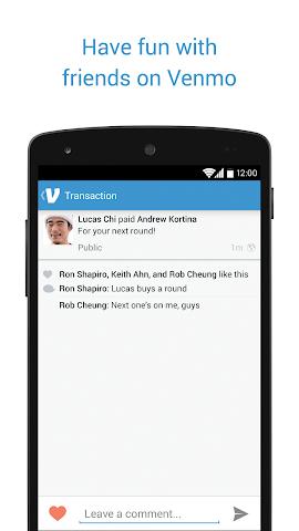 Screenshots for Venmo