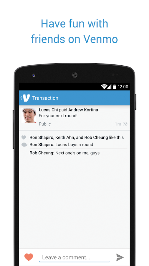Venmo - screenshot