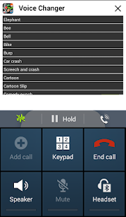 Play Voice Changer During Call- screenshot thumbnail