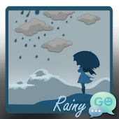 GO SMS Pro Rainy Theme