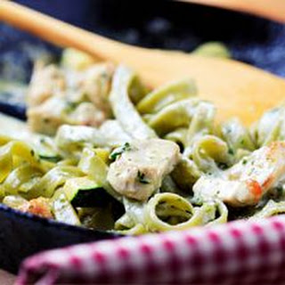 Creamy Chicken Pasta.
