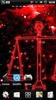 Screenshot of Libra live wallpaper