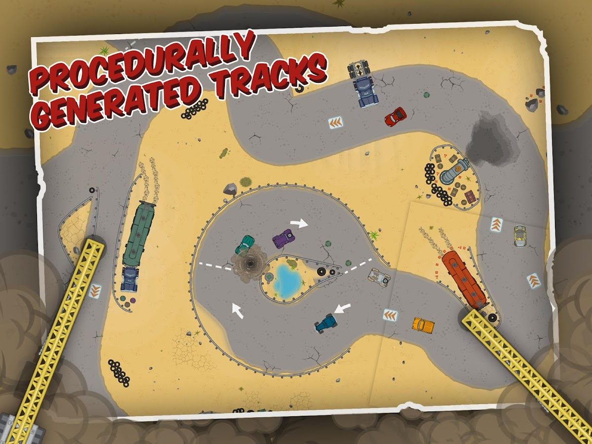 Wreck'em Racing - screenshot