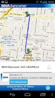 Screenshot of BBVA Bancomer Localizaciones