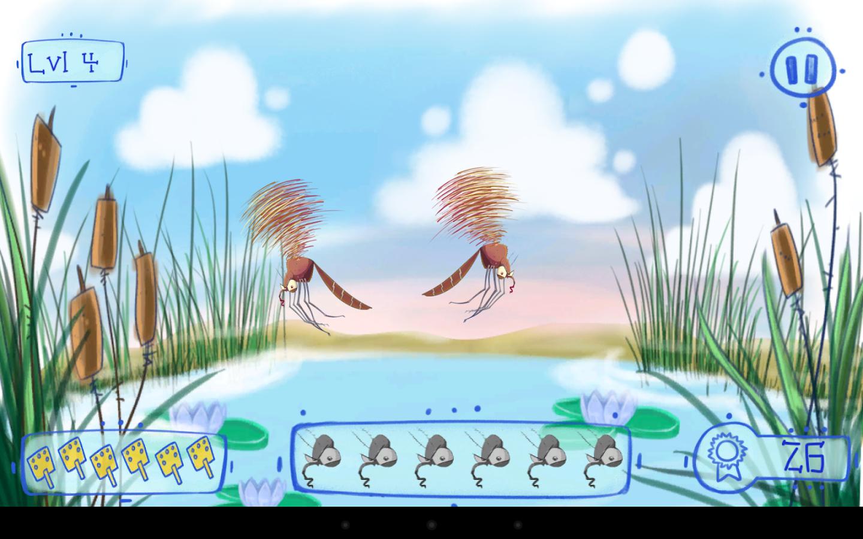 Malaria Mosquito Predator Slay - screenshot