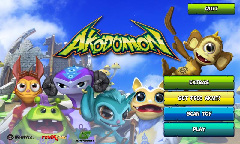 Akodomon- screenshot