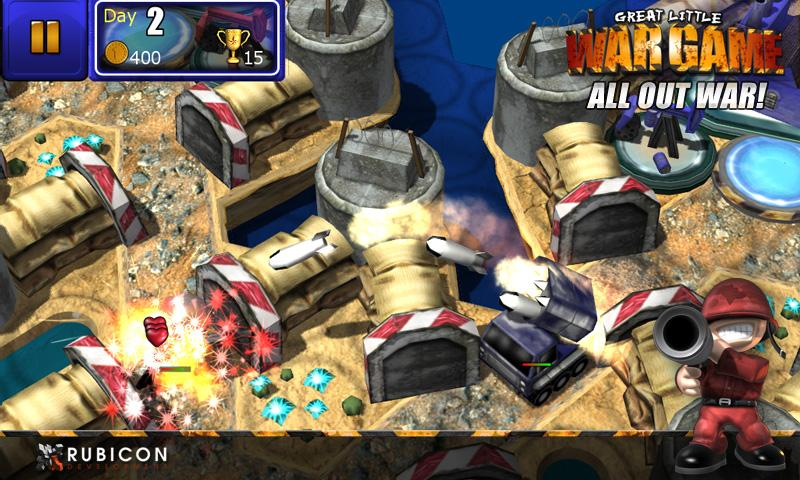 GLWG:All Out War - screenshot