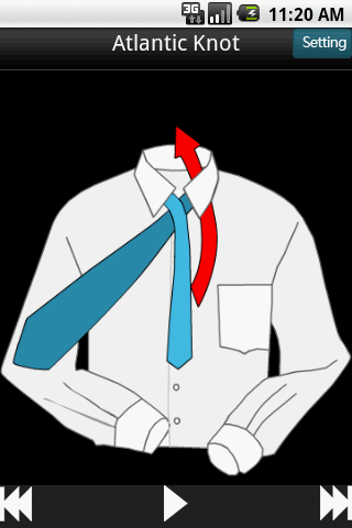 Necktie Knot - screenshot