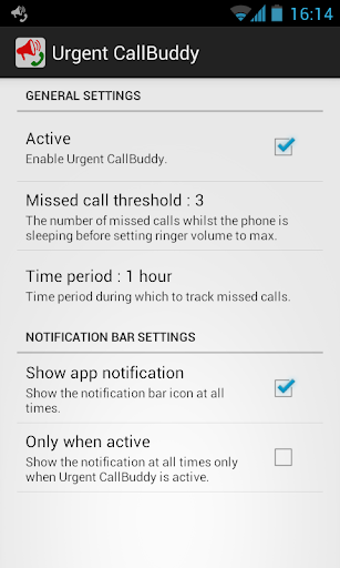 Urgent CallBuddy