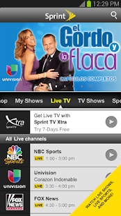 Sprint TV & Movies - screenshot thumbnail