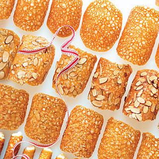 Honey Almond Lace Crisps