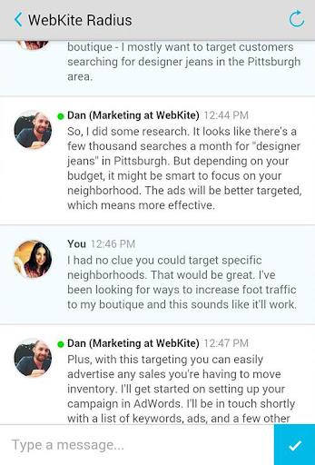 WebKite Radius: Online Ads