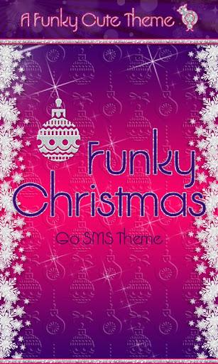 Funky Christmas GO SMS Theme